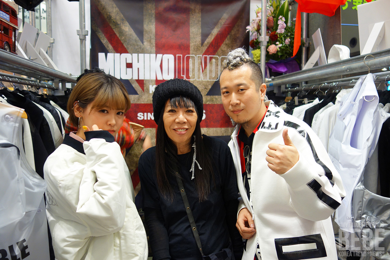 韓国トレンド情報サイトBEBE 原宿 MICHIKO LONDON